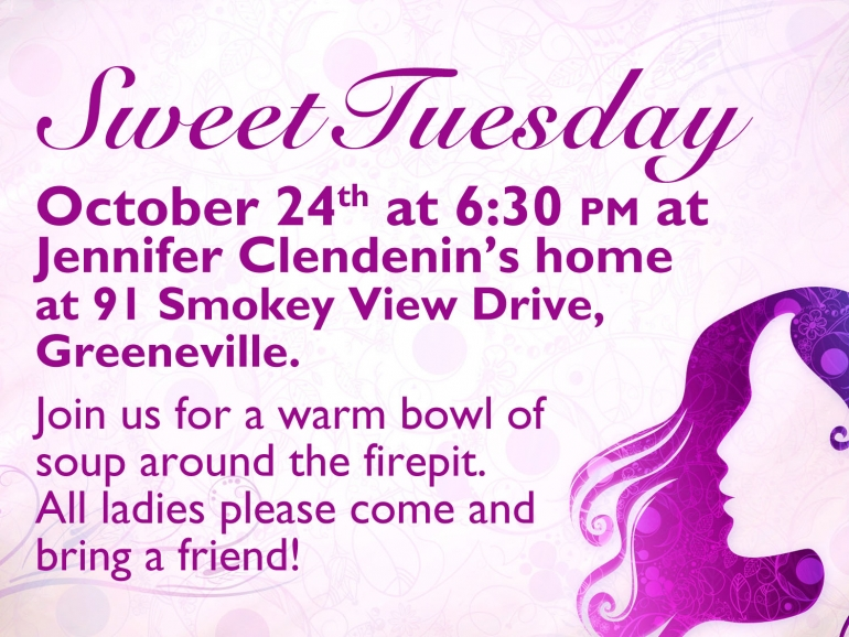 Sweet Tuesday - October