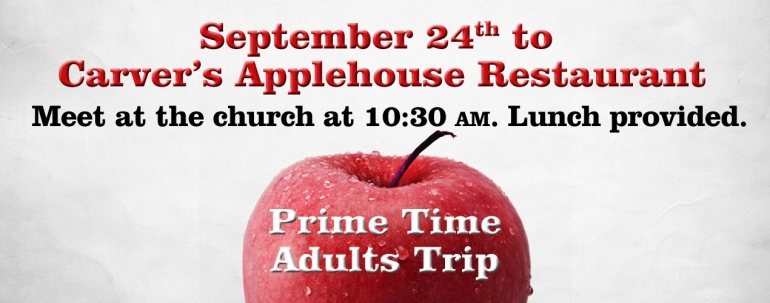 Prime Time Adults - Applehouse