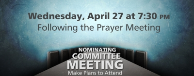 Nominating Committee Meeting