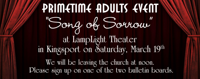 LampLight Theater (Prime Time Adults)