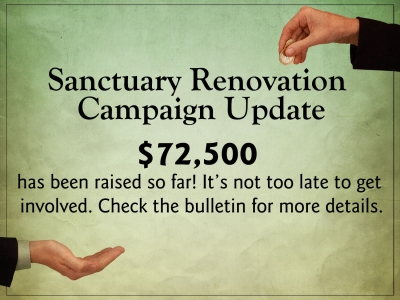 Sanctuary Giving Campaign
