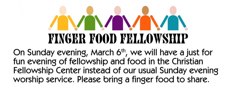 Finger Foods and Fellowship
