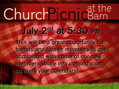 2017 Church Picnic at the Barn