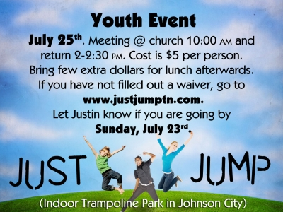 Just Jump July 2017