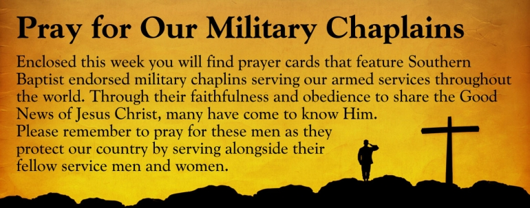 Pray for Military Chaplains