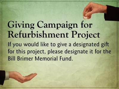Giving Campaign for Refurbishment
