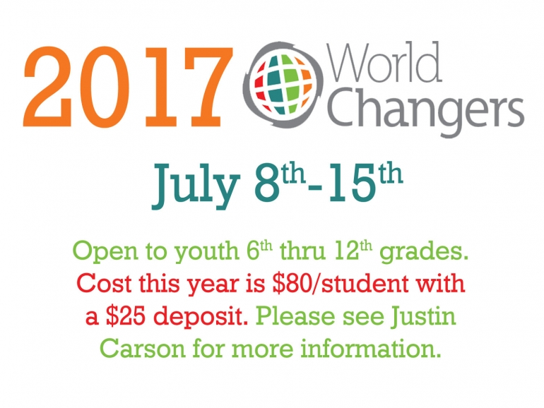 2017 World Changers