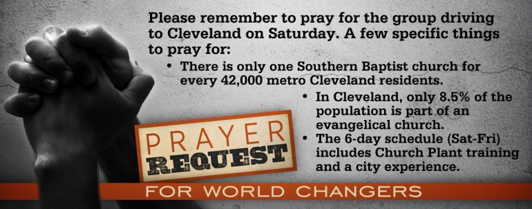 Pray for World Changers